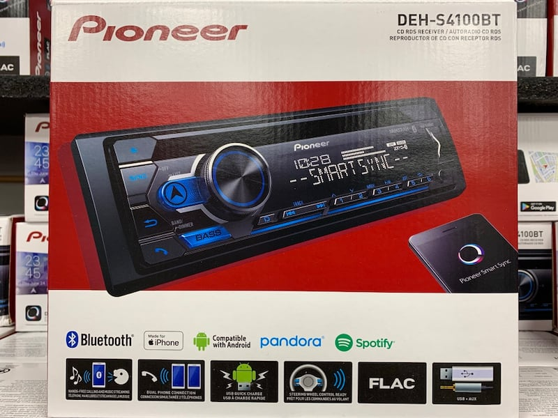 Pioneer stereo with installation New in the box Bluetooth usb AUX 000809b6-5789-4620-85b2-a712cbaafc92