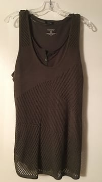tank/sweater olive green women's 2 piece XL Danville, 94526