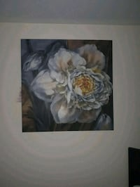white and brown flowers painting Niagara Falls, L2E 6S6
