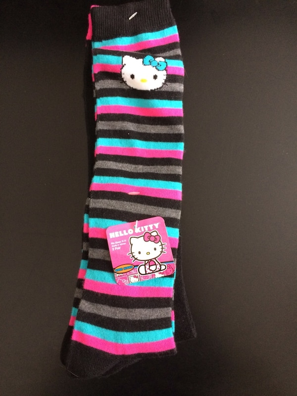f3a350b098e51 Used 2 pair Hello Kitty new ladies socks for sale in Penfield - letgo