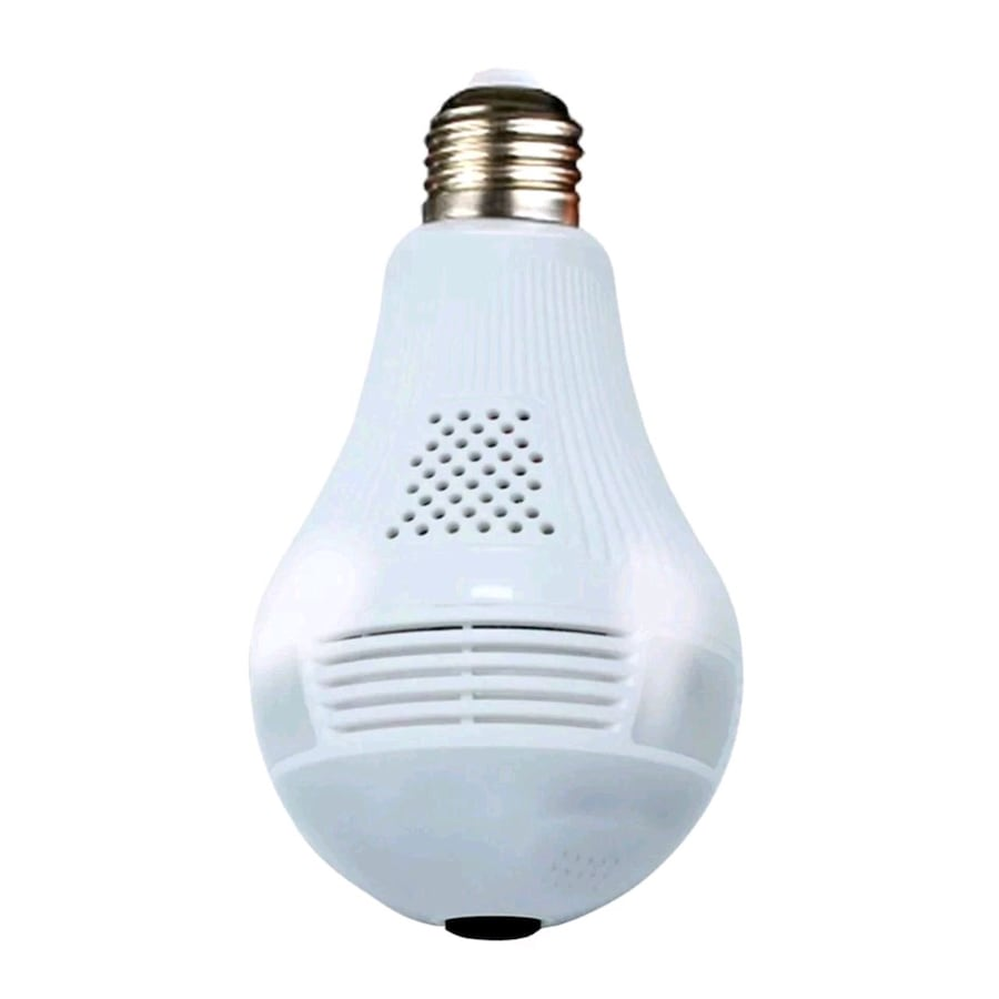 Panoramic wifi camera bulb