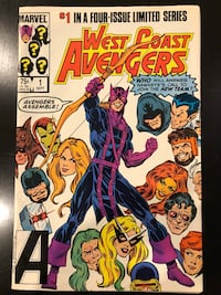 Marvel Comic - West Coast Avenger null, 11211
