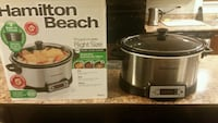 Hamilton Beach 6qrt Slow Cooker.  Maple Ridge, V2X 0Z1