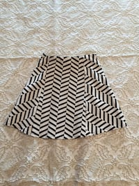 black and white chevron skirt Toronto, M6E 3R1