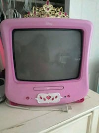 pink and purple Disney CRT TV Downers Grove, 60516