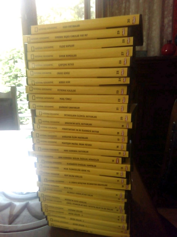 National Geographic DVD orjinal hic kullanilmadi.