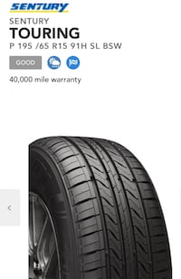 Tire 195-55/R15 Laurel