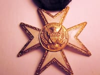 MASONIC KNIGHT  MEDAL Catharpin