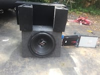 black and gray subwoofer speaker North Chesterfield, 23235