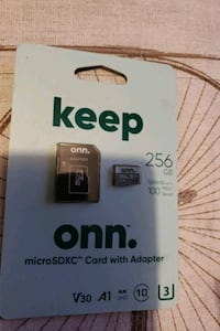 Sd card 256 plus free gift Summerville, 29483