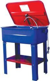 tools parts washer with motor and scrub brush OMAHA