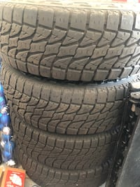 2007 Chevy durmax rims and tires stock 8 Lug