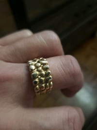 14k real gold(nugget ring) Toronto, M1V 1W3