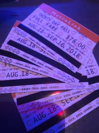 Monthly passes  St. Louis, 63107