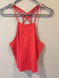 Hollister top in red size S Ajax, L1T 3X5
