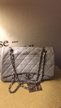 quilted white leather crossbody bag Redwood City, 94062