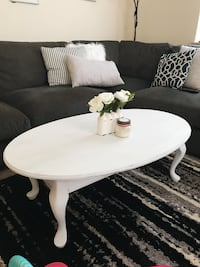 White rustic refurbished coffee table  Bainbridge Island, 98110