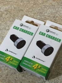 Car charger ( fast charging ) Toronto
