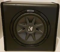 Kicker subwoofer with enclosure Baltimore, 21244