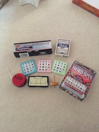 Assorted mini games/toys