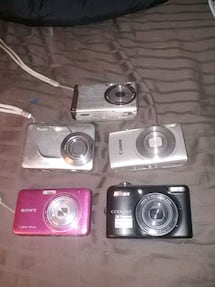 Mix of cameras and 3 lens