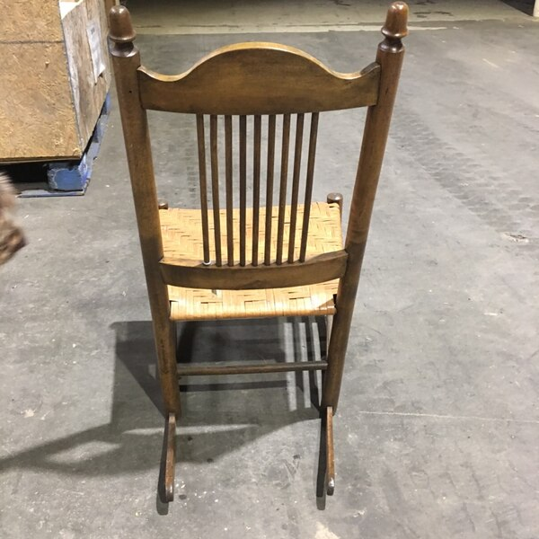 Antique cane rocking chair. In great condition. Closing antique shop and selling what's left