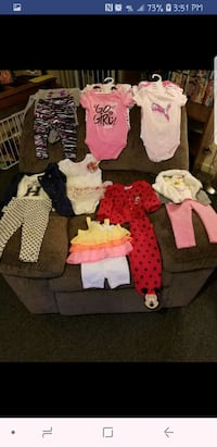 Baby girl clothes Kerrville, 78028