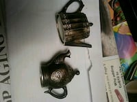 Godinger Silver and art co. Silver plated salt pep Dover, 19901