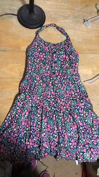 Girls Cherokee size 8 pink floral dress 156 mi