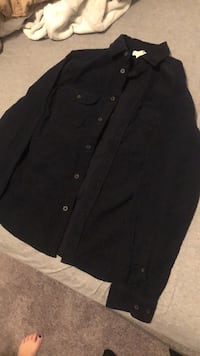 Men's (small) corduroy flannel  Fort McMurray, T9K 0M7