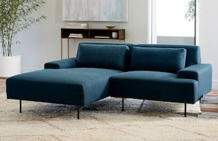 West Elm Beckham Right Hand chaise sectional