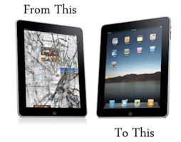 Réparation IPAD 2 3 4 5 AIR MINI 1 2 3 à partir de 40$