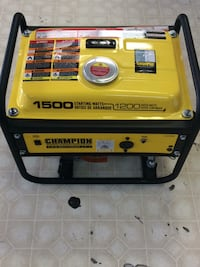 Yellow and black champion portable generator Manassas Park, 20111