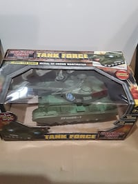 green Combat Zone tank force toy box