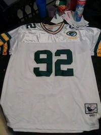 white and black NFL jersey Albany, 12210