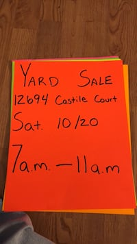 yard sale  Woodbridge, 22192