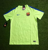 Nike Men 's Dry FC Barcelona training jersey. New. Miami, 33187