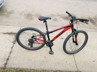 red and black hard tail mountain bike Edmonton, T5E 6K9