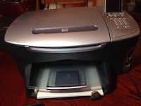 gray and black HP desktop printer TORONTO