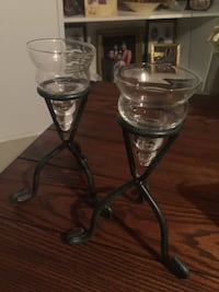 Pair of candle holders 556 km