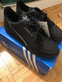 BRAND NEW Black Adidas Continental 80 Shoes Size 9 Toronto, M3M 1H3