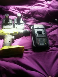 One + power drill with charger and two batterys Chicago, 60628