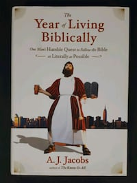 The Year of Living Biblically Book Barrie, L4N 7L8