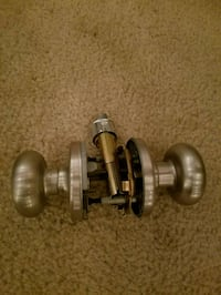 Brushed nickel doorknobs Ashburn, 20148