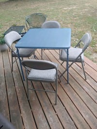 Card Table / Deluxe Padded Chair Set Bowie, 20716