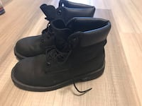 Pair of black leather work boots Halifax, B3J 0E6