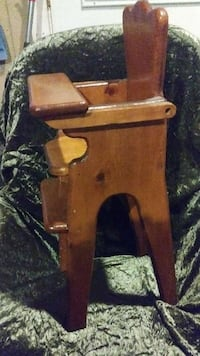 Hand made wood doll size highchair Sacramento County