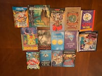 Assorted Books all in GUC to EUC Pickering, L1V 1J4