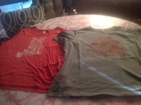 2 Cat tshirts Size 2XL never worn. New. Calgary, T2C 0G2