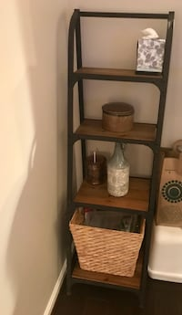 Brown wooden 4-layers bookshelves  from Kohl's. Two available $20 each  Fairfax, 22033
